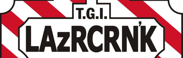 Fri Mar 13th LAZERCRUNK T.G.I. Friday the 13th w/ DIZCREPANCY, Cutups & Keeb$ @ Brillobox