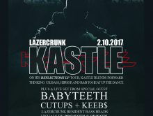 Fri Feb 10th LAZERCRUNK w/ Kastle (LA), Babyteeth + 1st Belvies edition!