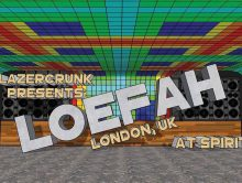 LAZERCRUNK presents Loefah (Swamp 81/ DMZ / UK) @ Spirit Hall