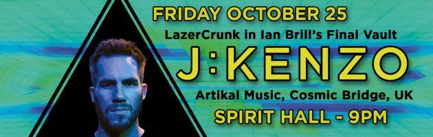 LazerCrunk Halloween w/ J:Kenzo (UK) @ Spirit