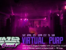 Lazercrunk:  Virtual Purp Live Stream