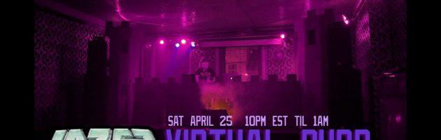Lazercrunk:  Virtual Purp Live Stream